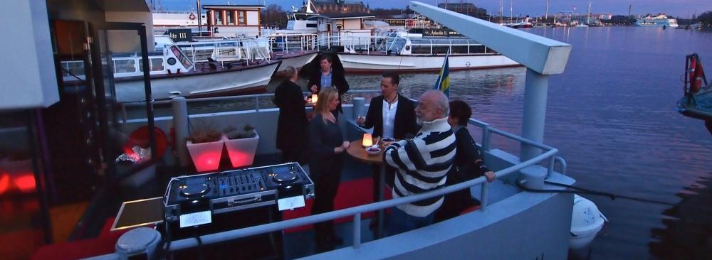 Teambuilding & kickoff med Stockholmsbåten Qrooz