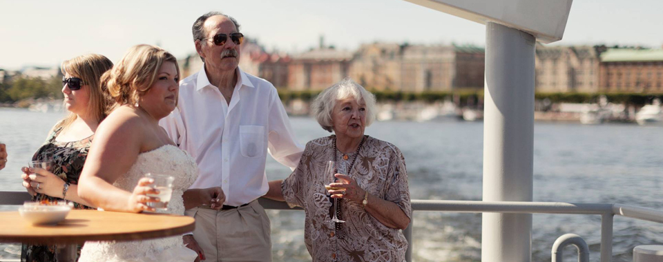 Bröllop & fest med Stockholmsbåten Qrooz