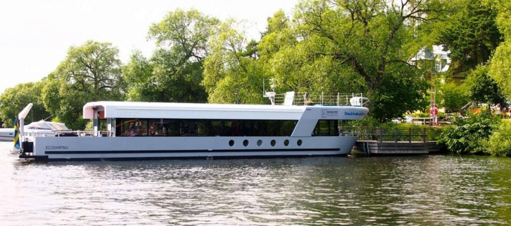 Välkommen till Stockholmsbåten Qrooz