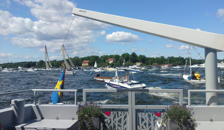 Skärgårdskryssning med Stockholmsbåten Qrooz