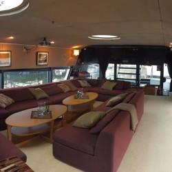 Komfort med Stockholmsbåten Qrooz