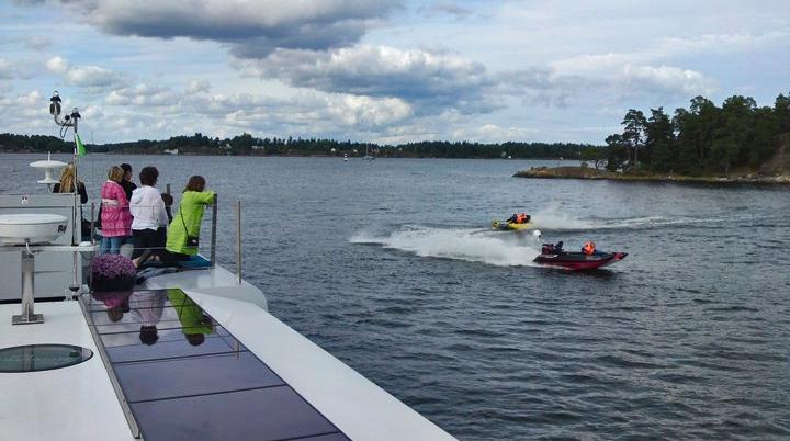 Upplevelse, Stockholmsbåten – Qrooz